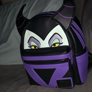 Loungefly Mini maleficent backpack